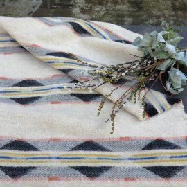 couverture fleurs carre
