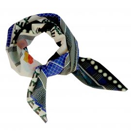 foulard carre open porté