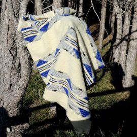 EVA couverture bleue foret